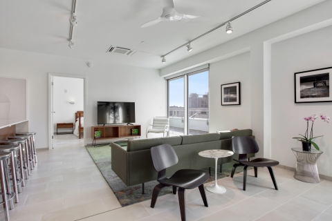 Penthouse #502 Living Room