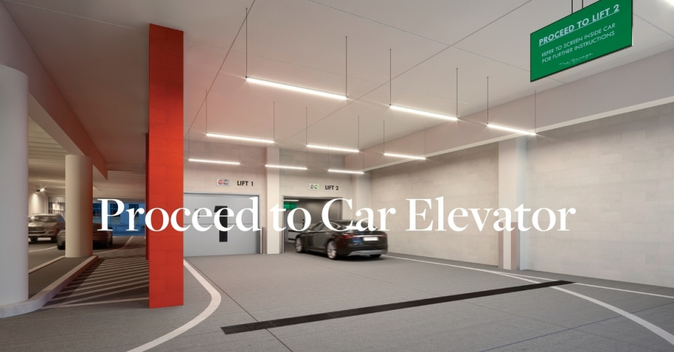 Step #2: Proceed to Car Elevator