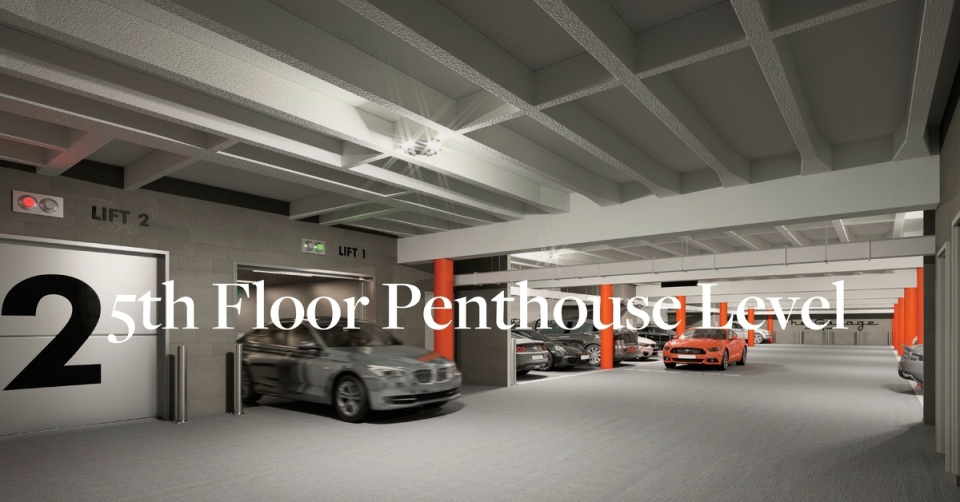 Step #3: Arrive on penthouse floor 5