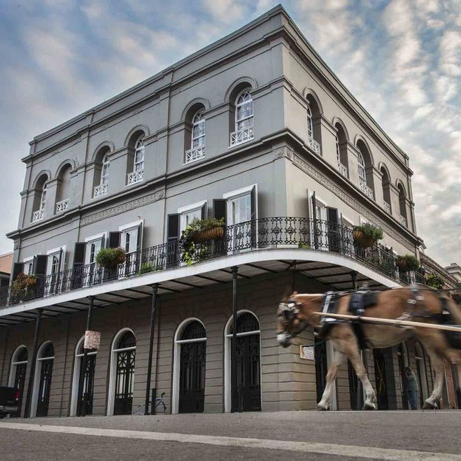 LaLaurie Mansion - 1140 Royal Exterior